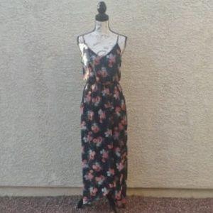 Sienna Sky Dresses - Sienna Sky Maxi Dress Asymmetric Hem Size M